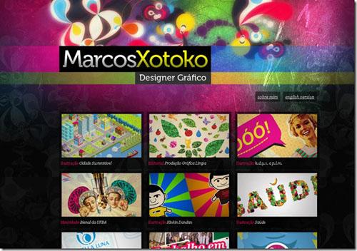 Thiết kế website đẹp - mẫu 2
