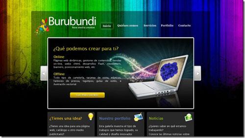 Thiết kế website đẹp - mẫu 8