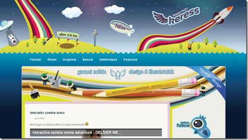 Thiết kế website đẹp - mẫu 9